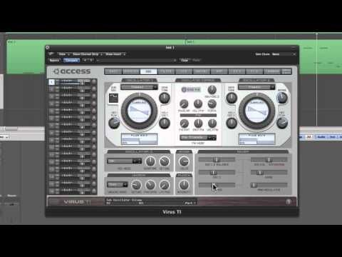 how to create a patch logic pro