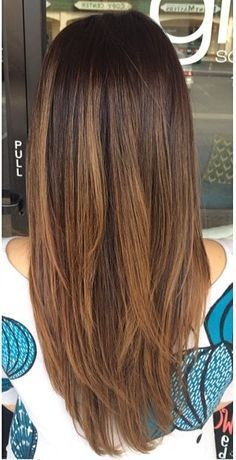 easy ways to style long straight hair best 25 layers ideas on 9270 | 20598ab801a57f557ca0caea2d57b018 shorter hair hair highlights
