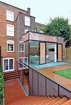 lower- + upper-ground 2-storey extension - Hampstead, London - Shahriar Nasser