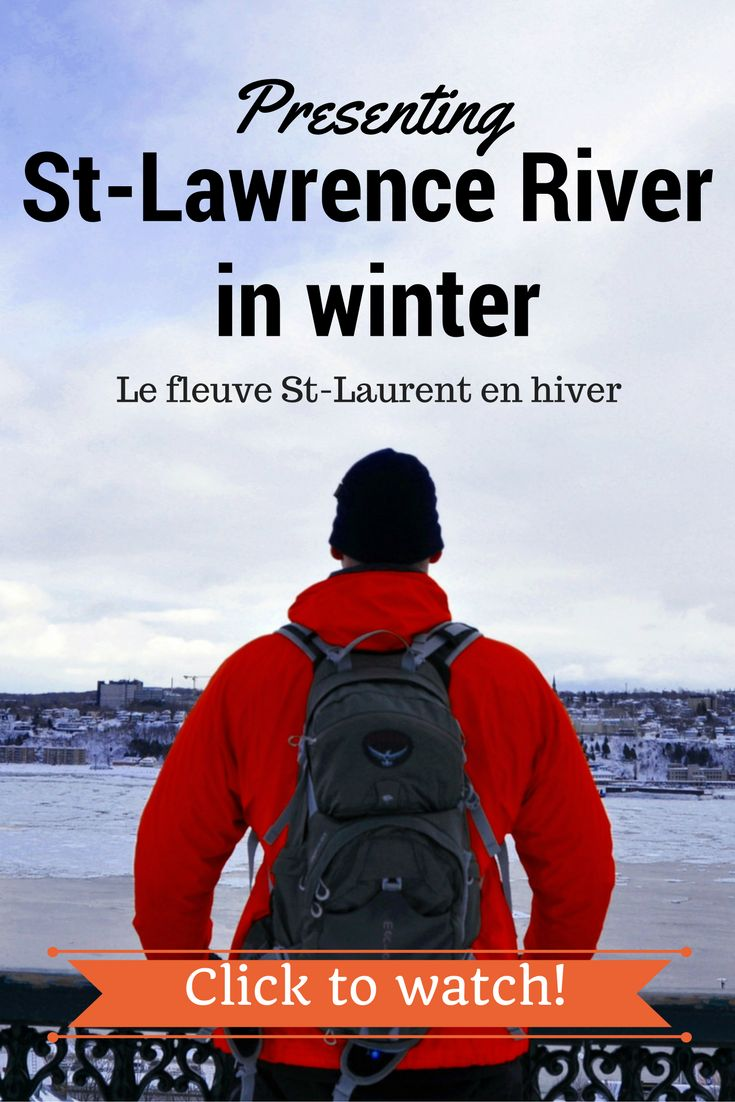 Images of the  St-Lawrence River in Winter