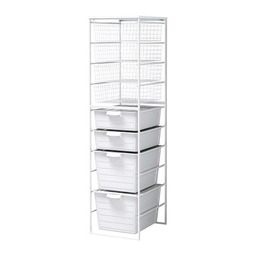 ANTONIUS Rahmen/Drahtkorb/Schubl/Arbeitspl IKEA