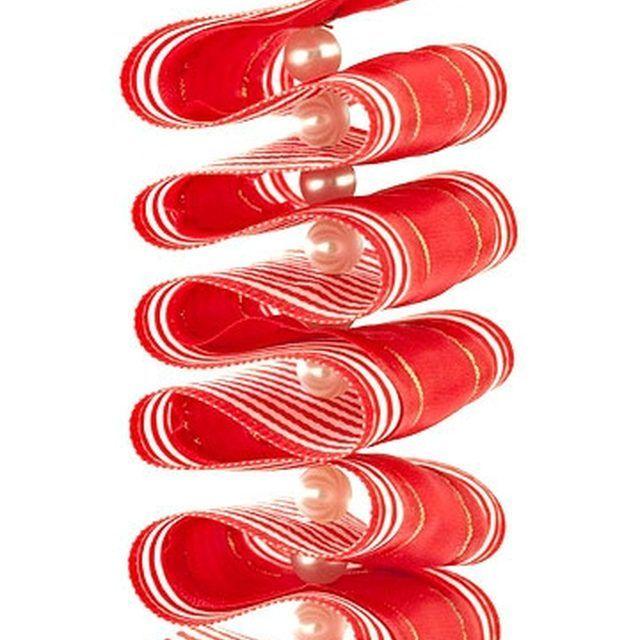 Make Ribbon Candy Ornaments