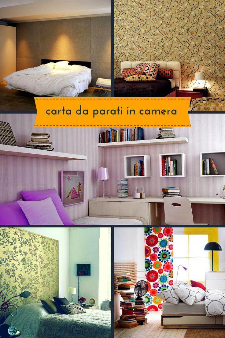 Oltre 25 fantastiche idee su carta da parati per camera da letto su pinterest tappezzeria a - Carta da parati camera da letto moderna ...