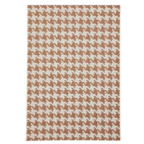 Ballard houndstooth indoor outdoor rug 7 ft 10 x 10 ft 10 for Cb2 indoor outdoor rug