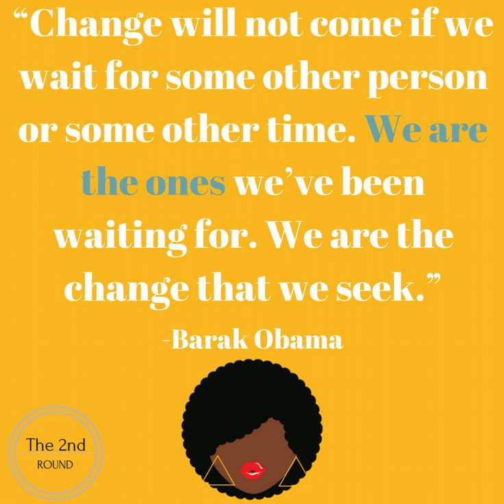 Change by Barak Obama