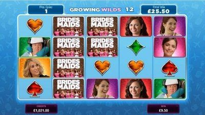 Bridesmaids online video slot Help Helen, Lillian, Annie, Megan, Rita and Becca in this cheeky game packed full of features. Get set for outrageous fun as you enjoy all the best moments of the raunchy comedy, alongside great payouts. The Bridesmaids slot brings all of the drama and excitement, tears and laughter of the massively successful 2011 romantic comedy. The slot not only features images from the movie, but there are also voiceovers and sound bites, as well as funny clips and…