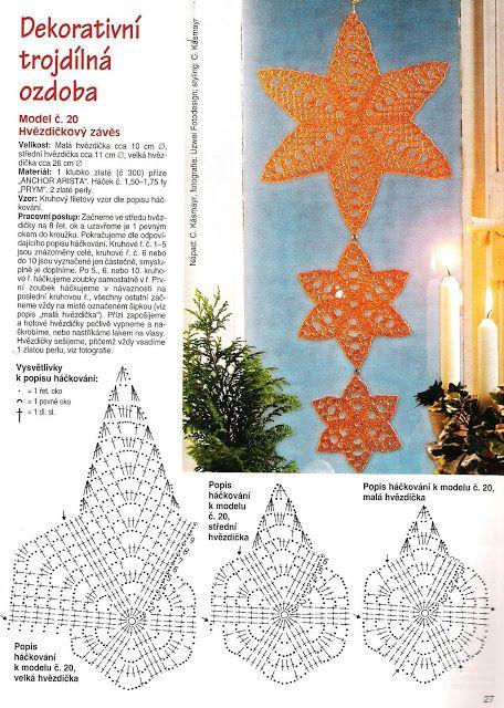 Patterns and motifs: Crocheted motif no. 719