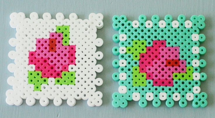 Maize Hutton: Playing with Perlers