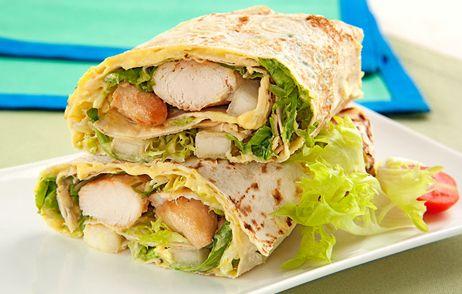 Kebab de frango ao molho de mostarda e mel