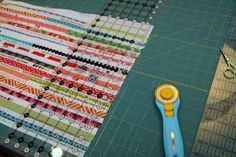 Sewing with Selvages: Making Your Own Selvage Fabric   Sew Mama Sew  