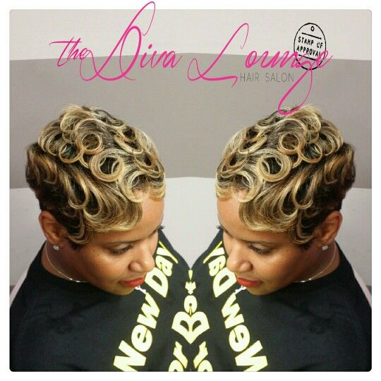 The Diva Lounge Hair Salon Montgomery Al Larnetta Moncrief Stylist Owner Short Hair