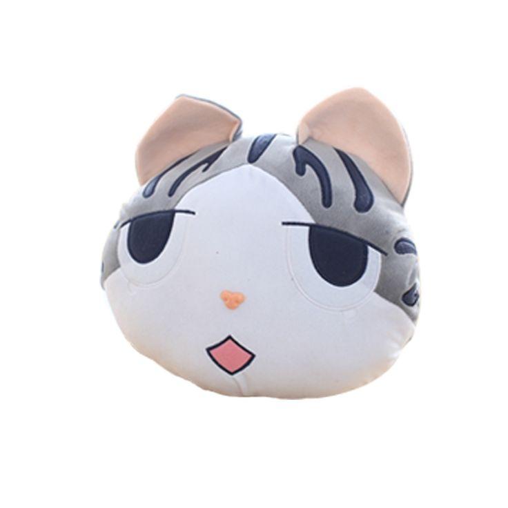 1 pcs 37*33 centímetros chi sweet home cheese cat travesseiro de pequeno, privado, doce cat/bola de arroz recheado cat almofada travesseiro para inclinar