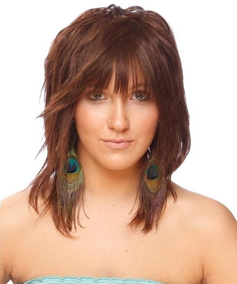 medium length hairstyles for women 2015 cortes de