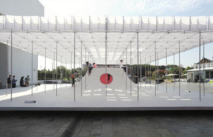Galería de Pabellón flotante / Shen Ting Tseng architects - 1