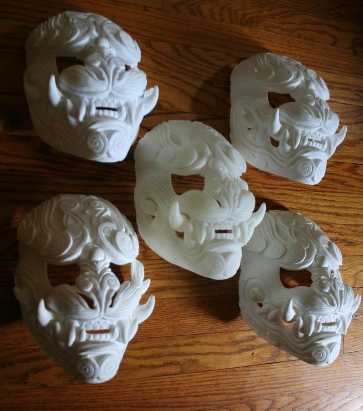 DIY Blank Lion of the Wind masks by mostlymade on DeviantArt