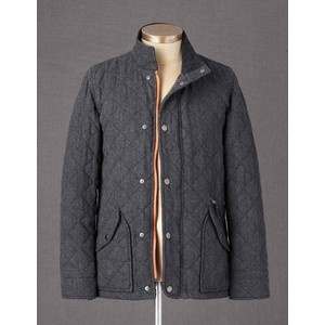 boden quilted jacket in gray wool my style pinterest quilted jacket. Black Bedroom Furniture Sets. Home Design Ideas