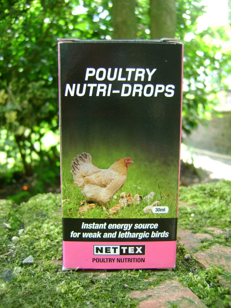 Poultry Nutri-Drops are a fast acting 'instant energy' source for weak and lethargic birds. They support the immune system. Poultry Nutri-Drops are an ideal aid to recovery following: Heat stress Diarrhoea Antibiotic treatment Environmental stress Instructions for use: 1ml per 1kg body weight with the pipette provided directly into the mouth.