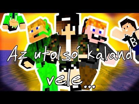 Magyar Minecraft Film - Télhaverok - YouTube