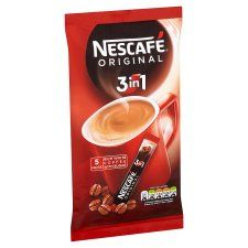 Nescafe Original 3 In 1 Instant Coffee 5 Sachets 85G €3.39 Instant Coffee with Whitener and Sugar