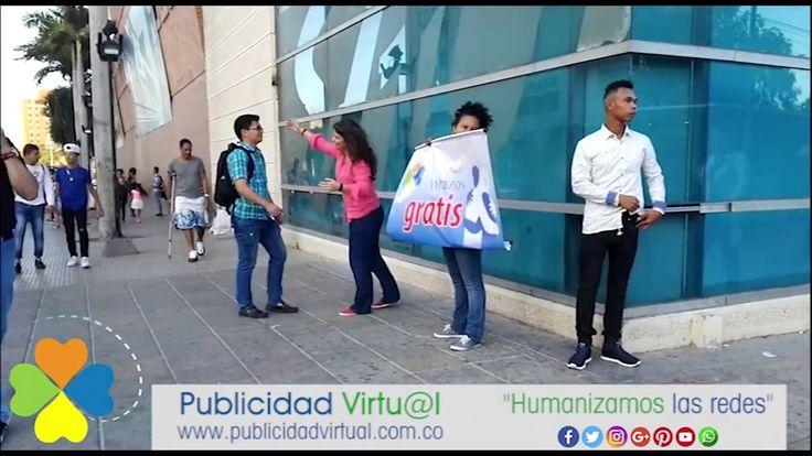 Barranquilla recibe abrazos Publicidad Virtual