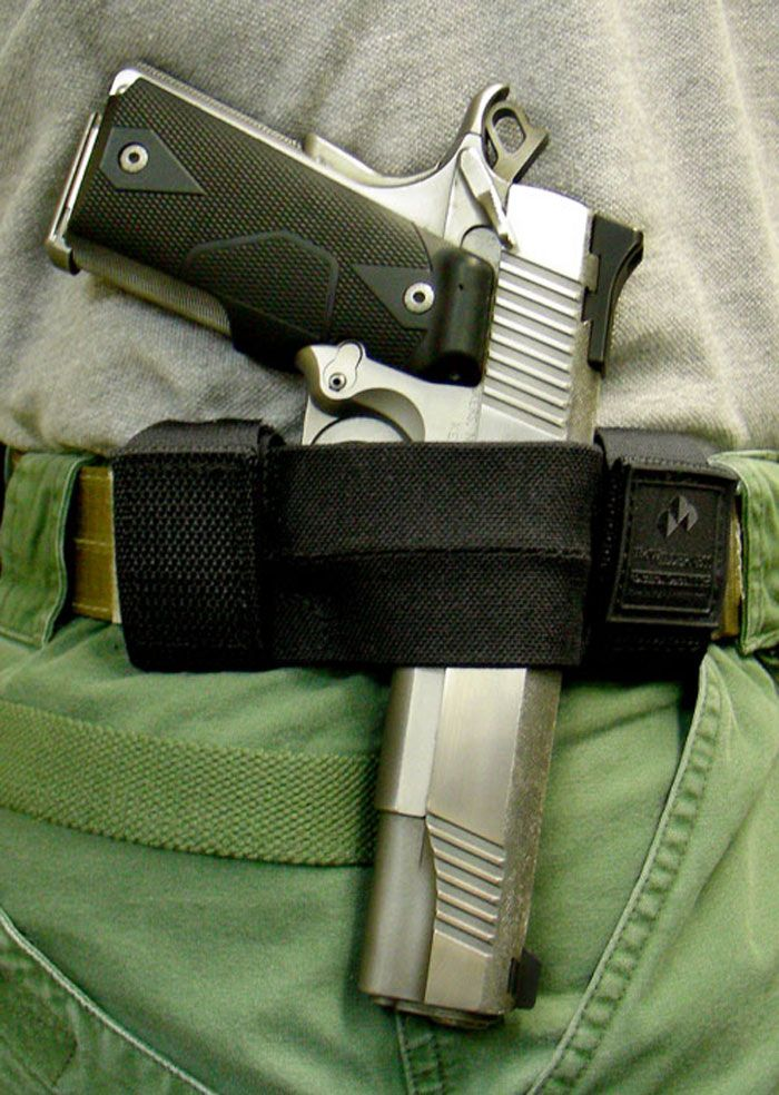 Zip Side Minimalist Holsters