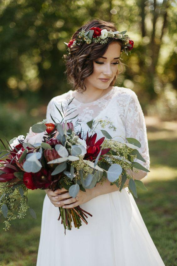 32 Idéias de casamento de jardim de outono gostoso   – BRAUT MODE