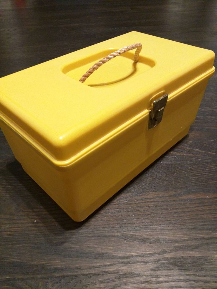 Excited to share the latest addition to my #etsy shop: Vintage Sewing Box, #Groovy #Mustard Sewing #Kit #Retro #Craft #box #toolbox #Fashion #seamstress Plastic Box with Lift Out Tray #Thread #Storage #yellow #sewingbox #sewing #valentinesday http://etsy.me/2CuLtoS