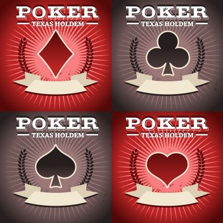 Texas Holdem Poker Suits