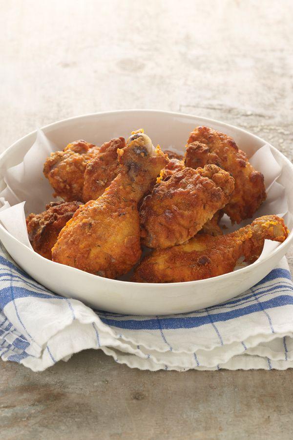 Oven Fried Chicken via Chobani: Oven Fried Chicken, Chicken Recipes ...