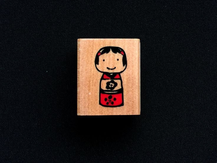 Kokeshi Rubber  #Stamp -  #Doll Rubber Stamp - Japanese Rubber Stamp - Traditional Japanese Available on Etsy! Shop https://www.etsy.com/listing/294673905/kokeshi-rubber-stamp-doll-rubber-stamp?utm_campaign=crowdfire&utm_content=crowdfire&utm_medium=social&utm_source=pinterest