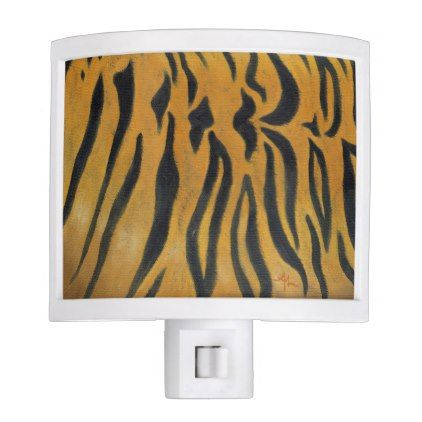 Tiger Stripes nightlight - home gifts ideas decor special unique custom individual customized individualized