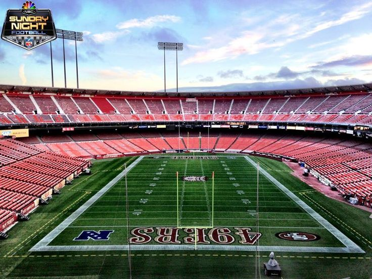 Next time you are in the area make sure to catch a game @ Candlestick Park