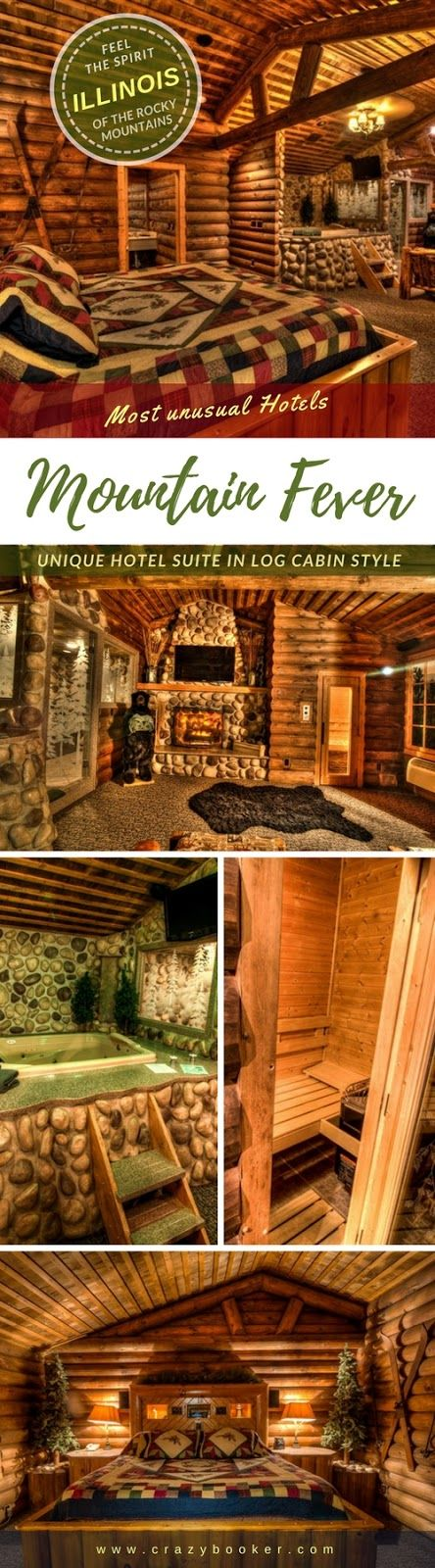 A cosy suite with log cabin look takes you into the magic world of the Rocky Mountains