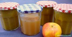 Geliermittel Apfelpektin selbermachen aus Apfelresten