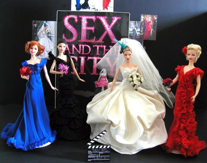 'Sex and the City' OOAK Barbie Dolls by Magia 2000
