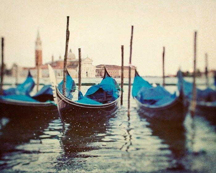 Venice Art, Venice Photography, Italy Art Print, Gondolas, Romantic Art, Travel Photography, Italian Wall Decor, Grand Canal  - Sploosh by EyePoetryPhotography on Etsy https://www.etsy.com/listing/62081694/venice-art-venice-photography-italy-art