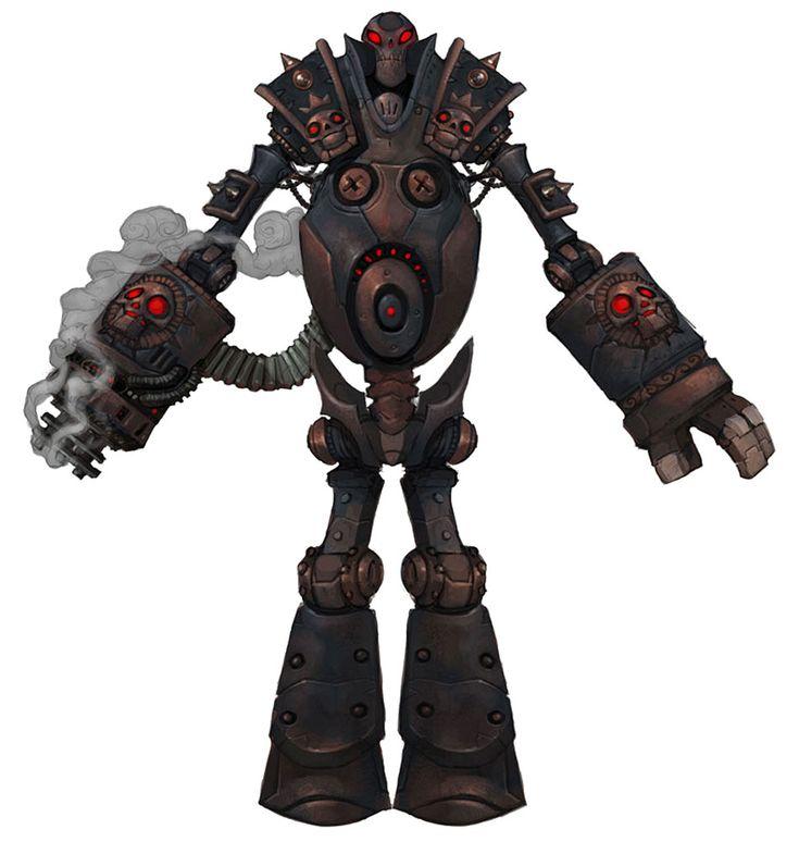 Battle Bot - Characters & Art - WildStar http://www.creativeuncut.com/gallery-26/ws-battle-bot.html