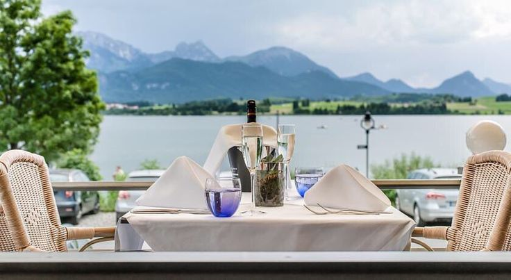 Hotel am Hopfensee - Füssen Germany  Explore this and other boutique hotels at Tucked Away Hotels (link in bio).