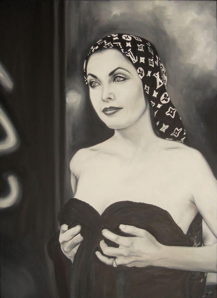 olej na plátně/oil on canvas  70x50cm