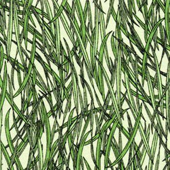Crawley Critters by Benartex Fabrics - Grass Green