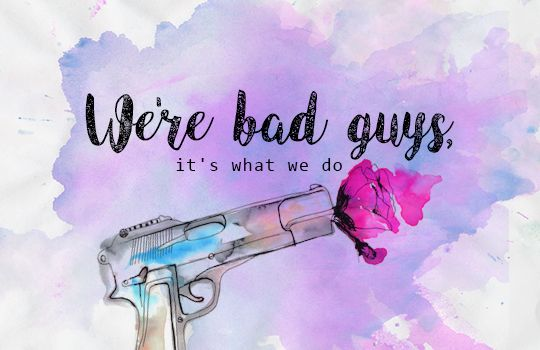 ♦ Harley Quinn Suicide Squad Quotes + Watercolour Designs