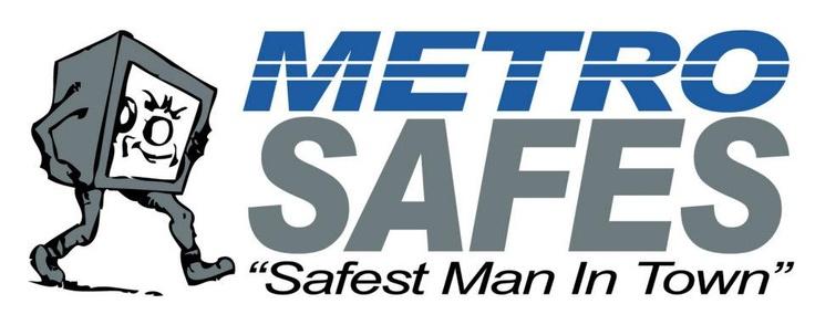 Logo design for Metro Safes, Sydney