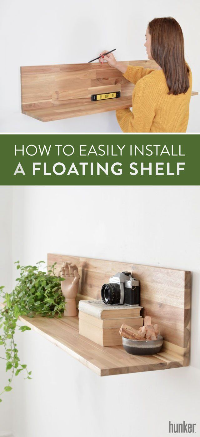 Installing A Floating Shelf Is Easy When You Follow Our Guide For