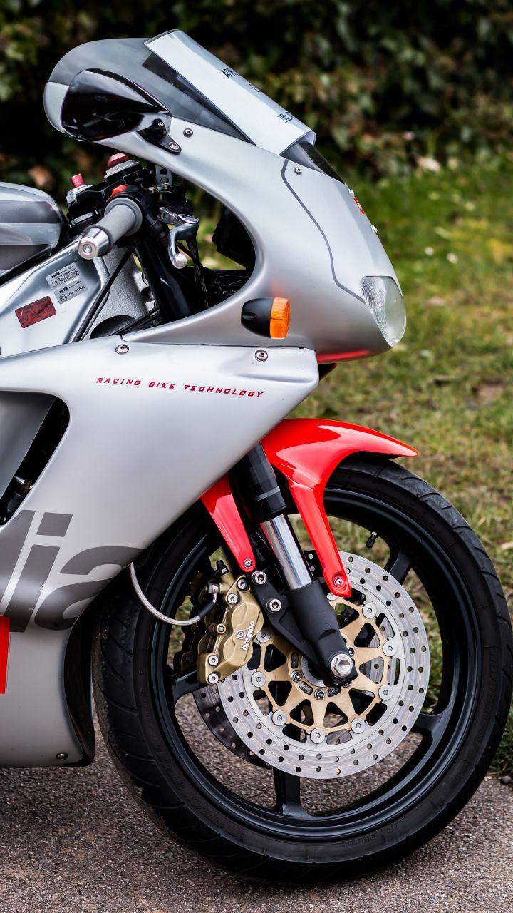 Aprilia Rs250 Front Race Bike 720x1280 Wallpaper Bike