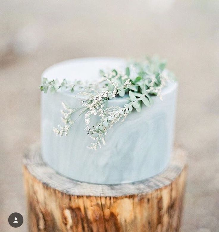 Blue Wedding Cake | Wedding Ideas | Wedding inspiration | Wedding Decor | Desserts |