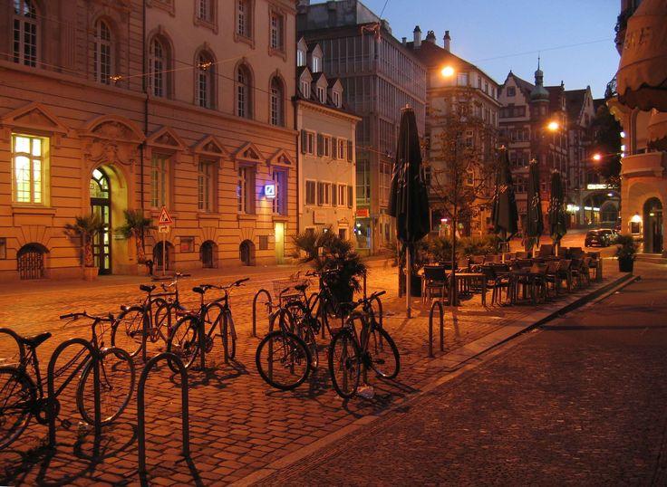 #atmosphere #bicycle #city #freiburg #germany #light #morning