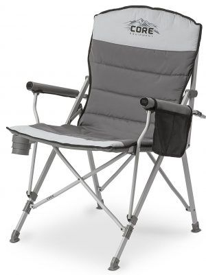 core folding lawn chairs top 10 best folding lawn chairs in 2018 rh pinterest com Small Portable Chair Portable Canvas Folding Chairs