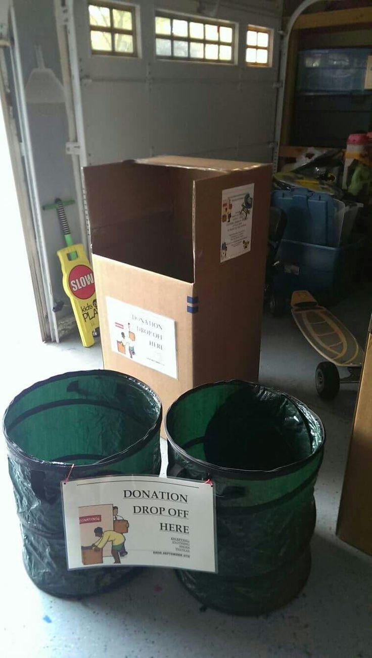Best 25 Donation Drop Box Ideas On Pinterest Donation
