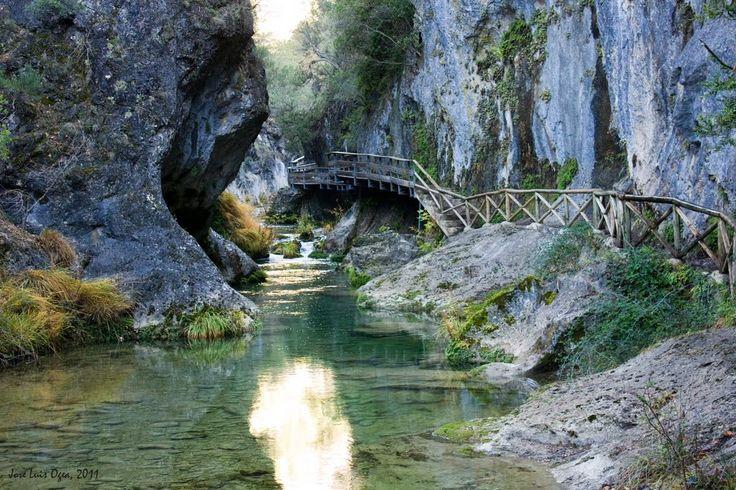 Cerrada de Elías, río Borosa. Sierra de Cazorla.