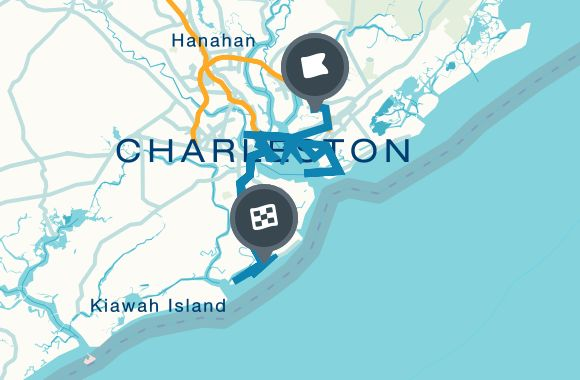 There's a Little Something For Everyone In Charleston, SC Map